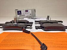 Mercedes-Benz Genuine Rear Brake Pad Set, Pads w/Sensor 0074201020, 1715400617