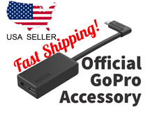 GoPro USB C Microphone Adapter 3.5mm - Black Fast Shipping US Seller
