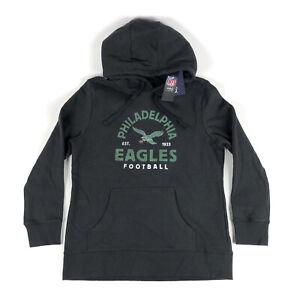 Philadelphia Eagles Women Large Retro NFL Fanatics Pullover Hoodie Sweatshirt