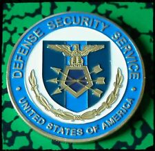 DSS DEFENSE SECURITY SERVICE #1308 COLORIZED ART ROUND