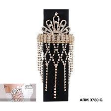 Gold Arrow Armlet Bracelet Upper Arm Cuff Armband Bangle Jewelry NEW!! ARM3730G