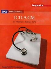 ICD-9-CM Professional for Physicians Vol. 1 & 2 by Ingenix (2005, Paperback)