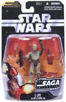 Star Wars 2006 Saga Collection 017 C-3PO with Battle Droid Head EPII AOTC