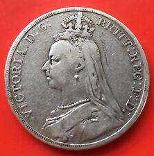 GB Victoria Crown silver 1889