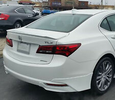 PAINTED FACTORY STYLE FLUSH MOUNT REAR WING SPOILER FOR AN ACURA TLX  2015-2020