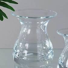 Kristallglasvase Trichter bauchig H. 14cm D. Cm Glas Formano