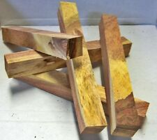 "Mesquite Figured (1 pc) Pen/Razor Blank 3/4""sq x 6"" 5604"