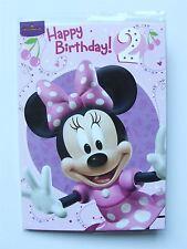 Disney Minnie mouse polka dot outfit Birthday card age 2 by Hallmark – 11012701