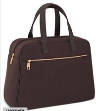 Paco Rabanne BROWN EXTRA LARGE Duffle Bag Weekender Travel Overnight Handbag