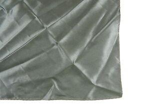 "Alfani $45 Black Plain WIDTH 11.25"" MEN Polyester HANDKERCHIEF POCKET SQUARE M31"