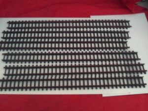 TRIANG/HORNBY R.480 SUPER 4 DOUBLE STRAIGHT TRACKS X 6 NEED CLEANING