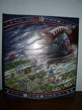 New Quality Deco Football All Teams Nfl 3 Ring Binder School Office Cool