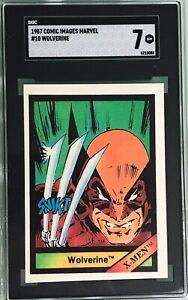 Wolverine X-Men 1987 Comic Images Marvel Universe #10 SGC 7