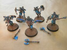 WARHAMMER 40 000 / SPACE WOLVES 1/ LOT 5 WULFEN / PEINTURE PRO / ARMES AIMANTEES