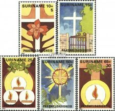 Suriname 1075-1079 (complete issue) unmounted mint / never hinged 1984 Easter