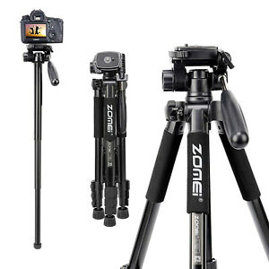ZOMEI Q222 Kamerastativ Einbeinstativ  Fotostativ für Nikon Canon DSLR Kameras