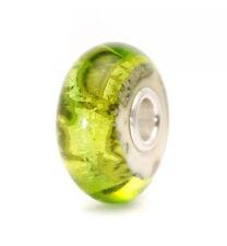 Trollbeads Green Glass Bead erde Tglbe-20048