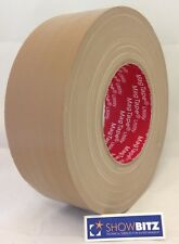 Gaffa BEIGE BROWN GLOSS Gaffer duct Tape 50mm X 50m  MAGTAPE® Utility