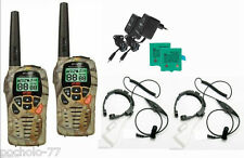 PAREJA DE WALKIE TALKIES INTEK MT3030M CAMUFLAJE + 2 LARINGOFONOS PMR446 12 KM