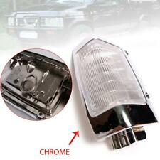 89 89 -97 Clear Chrome Corner Park Lamp FIT Nissan Navara D21 Pickup Left