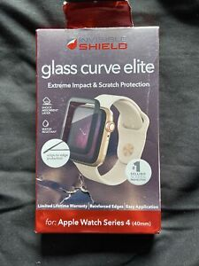 Apple Watch Series 4 Invisible Shield Glass Curve Elite Screen Protector  5859