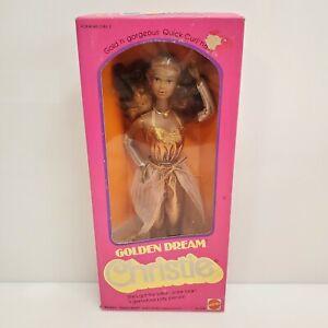 Vintage 1980 Golden Dream Christie Doll 3249 Barbie HTF