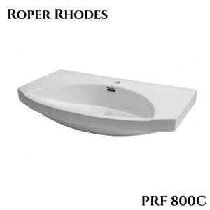 Brand New Roper Rhodes Profile Ceramic Basin PRF800C for elegant Design Bathroom