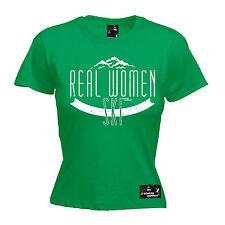 Real Women Ski Womens Powder Monkeez T-Shirt birthday gift clothing skiing skier