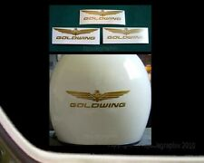 Helmet Decal Set For Goldwing Motorcycle Riders 5 inch, GW-5