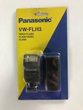PANASONIC VW-FLH3 E VIDEO FLASH – NEW BOXED