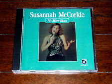 CD: Susannah McCorkle - No More Blues / Vocal Jazz Pop / P.S. I Love You Concord