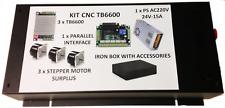 KIT CNC TB6600 completo di alimentatore e motori