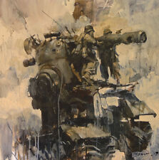 Ashley Wood War Fixers Limited Edition Poster Print 3A 3AA Like Jeremy Geddes