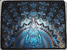 Todd Slater Strange Attraction 4 Sapphire Blue Signed #d Foil Stamp Print Poster