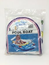 Vintage Peanuts Gang Snoopy & Friends Pool Boat The Wet Set No 59315 Toy NOS NIB