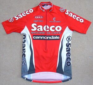 "FAIR CONDITION SAECO ESTRO PRO TEAM JERSEY. CANNONDALE 40"" CIRCUMFERENCE"