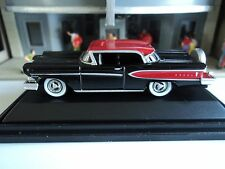 Oxford  1958   Edsel  Citation   Black / Amber Red      1/87   HO   diecast car