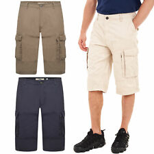 Ex Debenhams Mens Cargo 3/4 Shorts Combat Utility Chino Long Three Quarter Pants