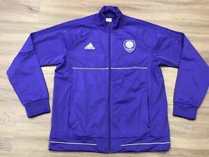 Orlando City SC Adidas MLS Soccer Warmup Track Jacket XL