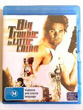 NEW Big Trouble in Little China Bluray Action Carpenter Russell Blu-ray Not DVD