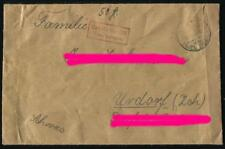"""Brief """"Gebühr bezahlt / Taxe Perçue"""" von Nordhalden nach Urdorf / Schweiz #m677"""