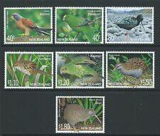 Nouvelle-zélande 2000 threatened birds non montés mint, neuf sans charnière