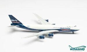 Herpa Wings Silk Way Airways Boeing 747-8F 535069