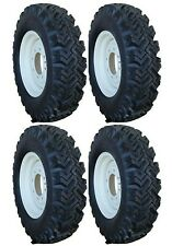 4 New 7.50-16 Narrow Snow Tires & Bobcat Skid Steer Rims replace 10-16.5 Kit T