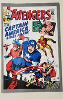 AVENGERS  #4 (Marvel Mar. 1964) Captain America **REPRINT 1993**