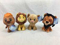 New With Tags - Simba, Nala, Scar & Timon - Disney The Lion King - 20cm