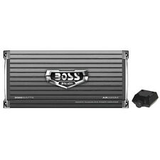 Boss Armor AR2000M 2000 Watt Monoblock A/B Amplifier Car Audio Amp + Bass Remote