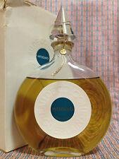 Vintage MID-CENTURY Mitsouko Guerlain HUGE 6.7 oz 200 ml Cologne Crystal Stopper