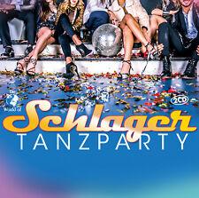CD Schlager Tanzparty von Various Artists 2CDs