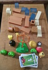 Angry Birds Building Set blocks figures  LARGE LOT  bad piggies cards bricks ice